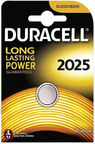 Duracell Long Lasting Power Lithium Tablet Battery CR2025