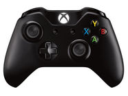 Microsoft Xbox One Wireless Controller Black Incl. Play And Charge + 3.5mm Stereo Headset Jack