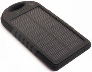 PowerNeed Power Bank 5000mAh With Solar Panel Black