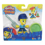 Hasbro Play-Doh Town Police Boy / Ice Cream Girl B5960
