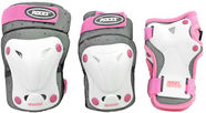 Roces SJR Ventilated Three Pack White/Pink