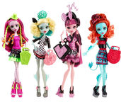 Monster High Monster Exchange Program CFD17