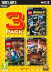 LEGO 3 Pack: Batman 2: DC Super Heroes, Harry Potter Years 5-7, Lord Of The Rings PC