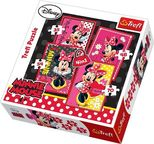 Trefl 4-in-1 Puzzle Beautiful Disney Minnie 34119