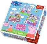 Trefl Peppa Pig 3-in-1 Puzzle 34813