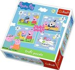 Trefl Peppa Pig Travel 4-in-1 Puzzle 34246