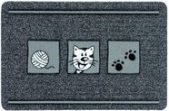 Doormat Flocky Color Cat