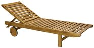 Home4You Deck Chair Finlay Brown
