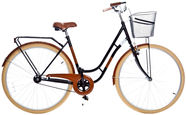 Grunberg Holland Single Speed 28 Black/Brown 16