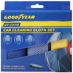 GoodYear GY-CA118 Car Cleaning Cloth Set 3pcs