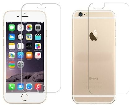 Tempered Glass Extreeme Shock Screen Protector Glass Apple iPhone 6 Plus Front+Back (TEM-SP-APP-IP6PL-2PC)