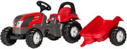 Rolly Toys Kid Valtra With Trailer Red 012527
