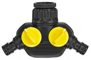 Karcher Twin 2 Way Tap Adaptor