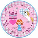 Pap Star Princess Dream Paper Plates 10PCS