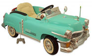 Baby Mix Retro Classic Car Green