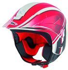 Shiro SH 65 MX Trial K2 Graphic Red L