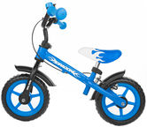 Milly Mally DRAGON Balance Bike With Brakes Blue 4751