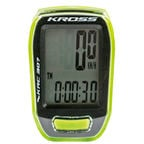 Kross Cycle computer CY-S307 Green/Black