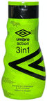 Corsair toilretries Umbro Action 3in1 Shampoo 400ml