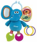 Chicco Rattle Elephant Blue