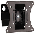 "4World Wall Mount For Monitor Adjustable 13-23"" Black"