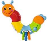 Simba ABC Caterpillar Rattle 	4011038