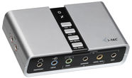 i-tec USB 7.1 Channel Audio Adapter USB71AA