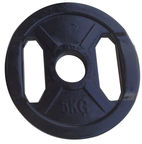 PX Sport Weight Disc Black Rubber 5kg