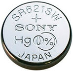 Sony Watch Battery SR621SWN-PB