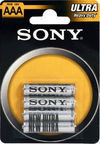 Sony Ultra Batteries 4x AAA
