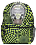 Mojo Hypnocheck Lime Backpack Plus Headphones
