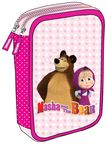 Target Pencil Case Double Full Masha & The Bear 17642