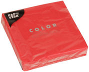Pap Star Color Collection 25 x 25cm Red 20pcs