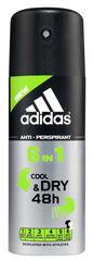 Adidas 6in1 Cool & Dry 48h, 150ml, Men