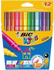 BIC Kids Visa Colouring Pens 12pcs