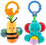 Fisher Price Rattle Elephant/Bee BLW36
