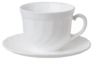 Luminarc Trianon Cup and Saucer 16cl 6pcs
