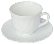 Luminarc Trianon Cup and Saucer 22cl 6pcs