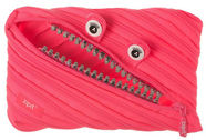 ZIPIT Pencil Case Grillz Jumbo Pouch Pink