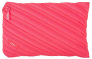 ZIPIT Neon Pencil Case Large Dazzling Pink