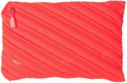ZIPIT Neon Pencil Case Large Glowing Peach