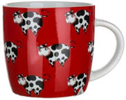Banquet Cows Mug Red 320ml
