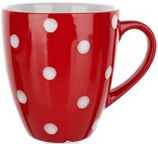 Banquet Banak Red Mug 400ml