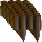 Prosperplast Palisade Border IPBO-R222 Brown