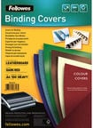 Fellowes Delta A4 FSC Binding Cover Leather Dark Red