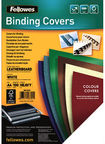 Fellowes Delta A4 FSC Binding Cover Leather White