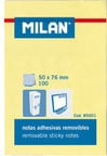 Milan Sticky Notes Yellow 85601
