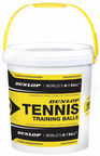 Dunlop Tennis Pressureless Training Balls 60pcs