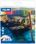 Milan Water Soluble Colour Pencils 80071