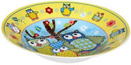 Banquet Owl Plate 20cm Yellow